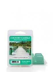 Country Candle Citrus & Seagrass Wosk Zapachowy 64g