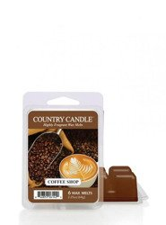 Country Candle Coffee Shop Wosk Zapachowy 64g