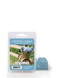 Country Candle Country Love Wosk Zapachowy 64g