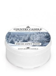 Country Candle Fresh Aspen Snow Świeca Daylight 42g