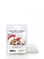 Country Candle  Wosk Winter's Nap Zapachowy 64g