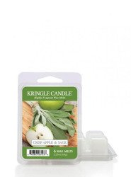 Kringle Candle Crisp Apple & Sage Wosk Zapachowy 64g