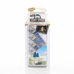 Yankee Candle Clean Cotton Vent Stick Zapach do Auta