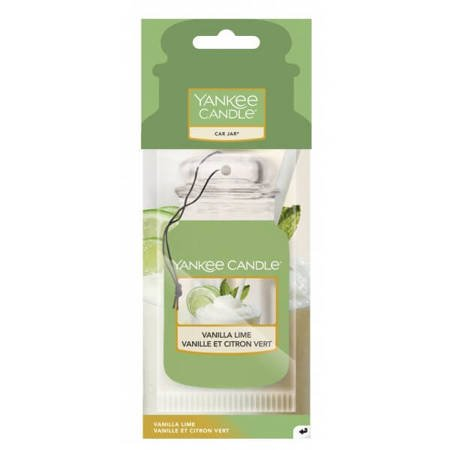Yankee Candle Vanilla Lime Car Jar Zapach do Auta